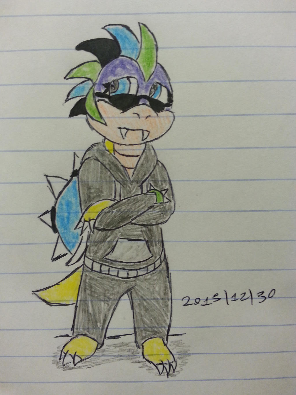 Aiva Forte Koopa Request by Revenir-Ghoul