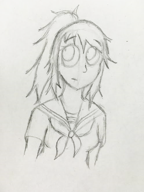 Yandere Chan (Ayano) by Revenir-Ghoul