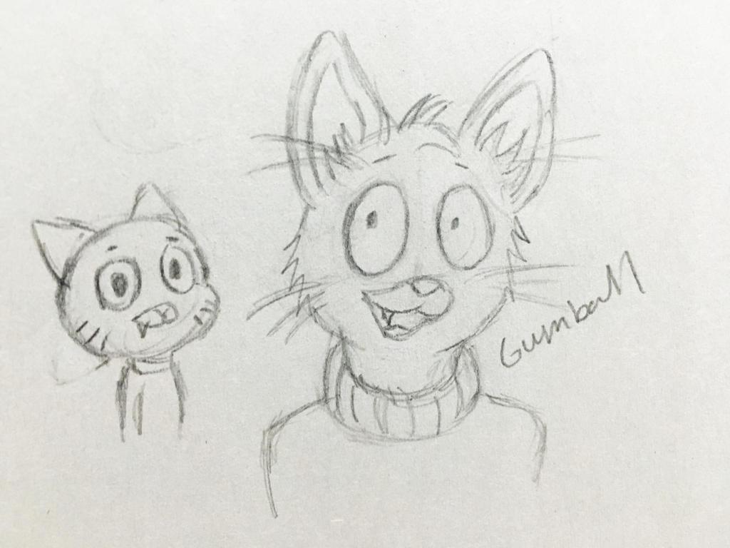 Gumball by Revenir-Ghoul