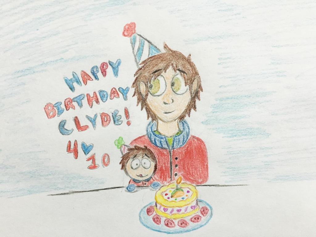Happy Birthday Clyde Donovan!! by Revenir-Ghoul