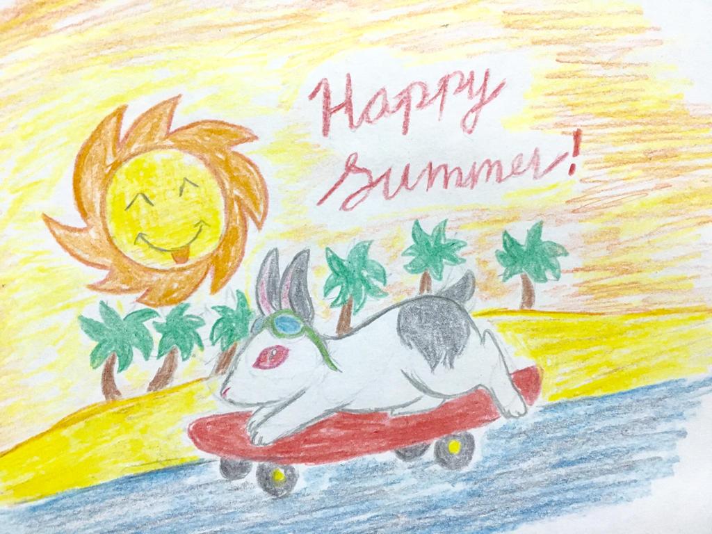 Happy Summer by Revenir-Ghoul