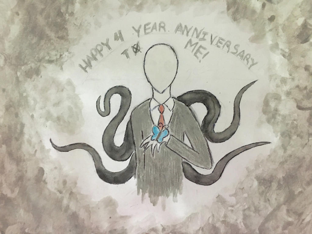 Four years of being a Slender Man Fan by Revenir-Ghoul