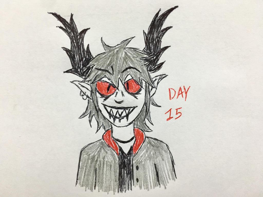 Inktober Day 15 by Revenir-Ghoul
