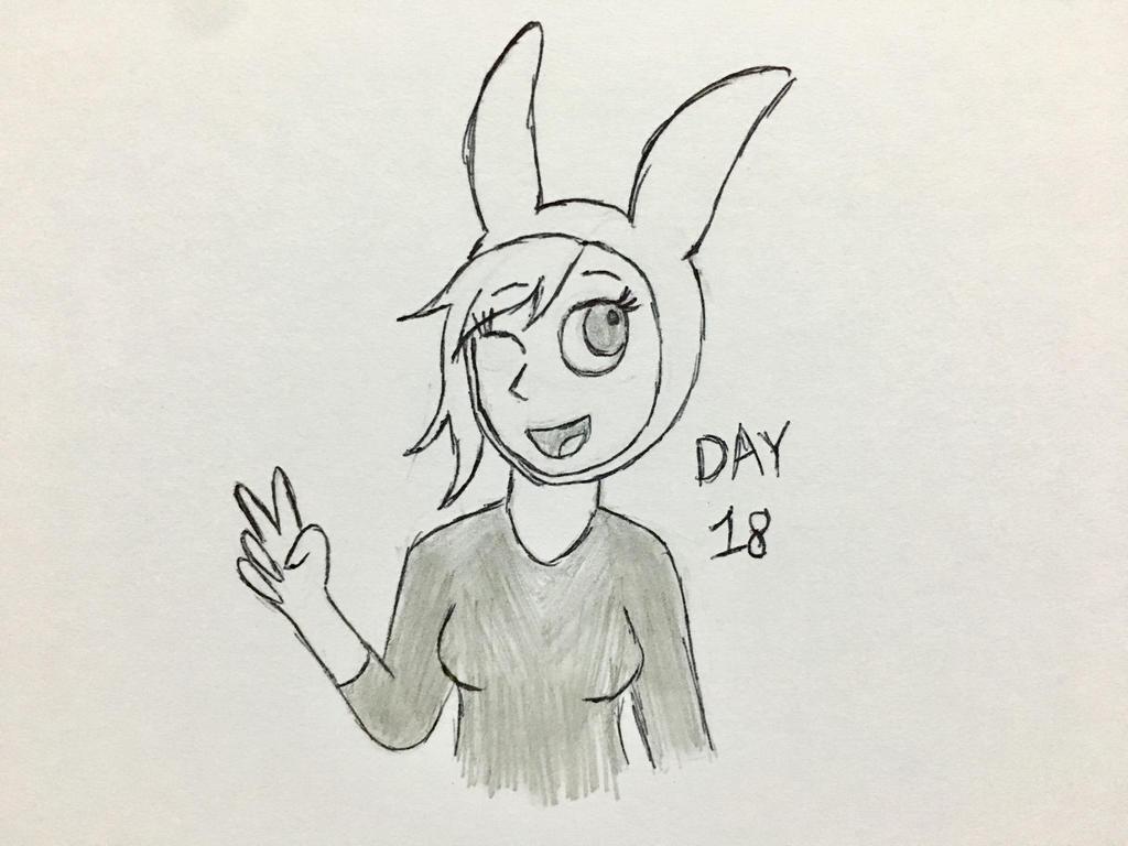 Inktober Day 18 by Revenir-Ghoul