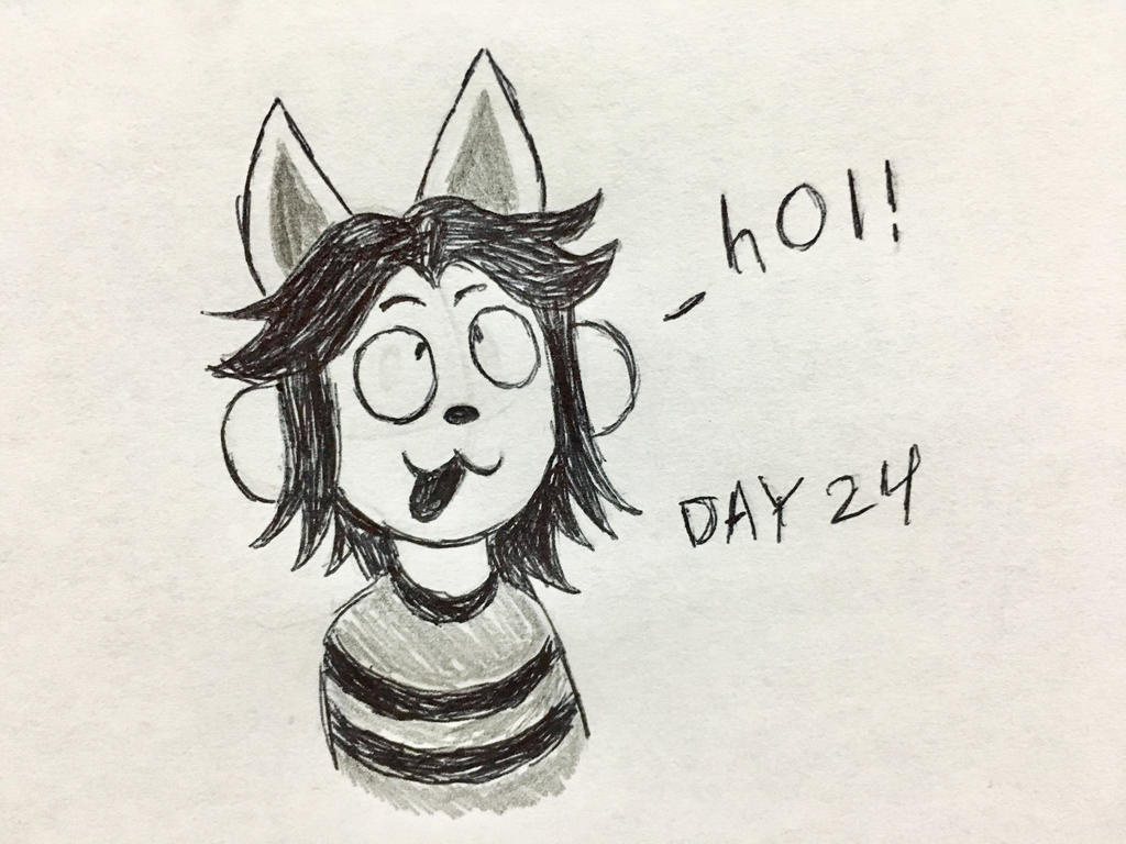 Inktober Day 24 by Revenir-Ghoul