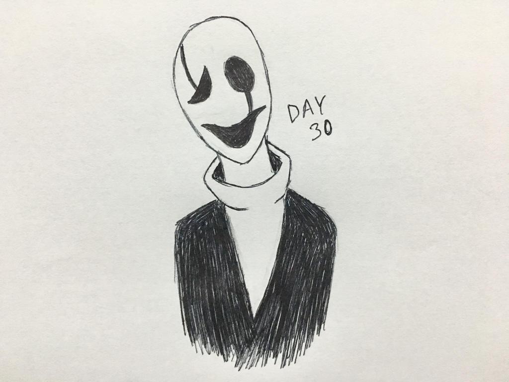 Inktober Day 30 by Revenir-Ghoul