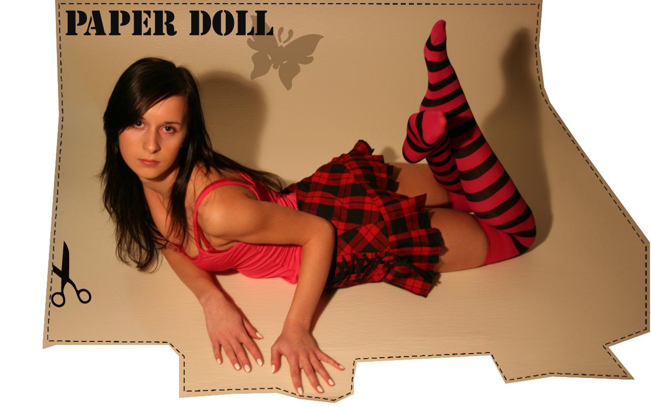 PAPER DOLL by leadbirdie