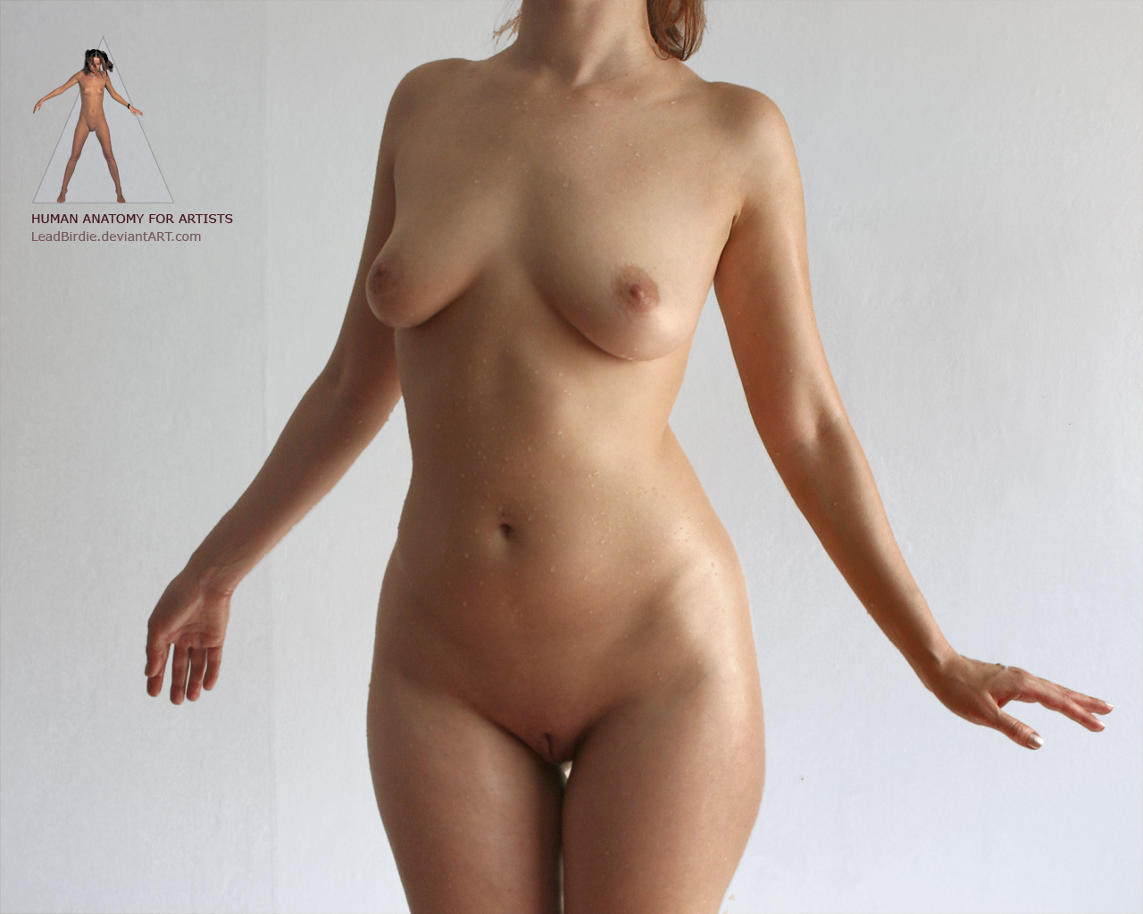 Naked girls with pines and guys