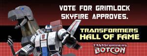 Vote for Grimlock Him King HOF by rando3d