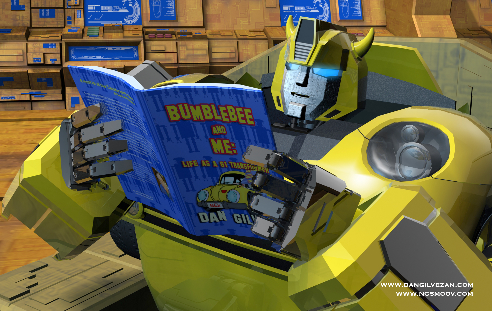 Bumblebee and Me featuring Dan Gilvezan by rando3d