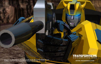 Don't mess with Bumblebee by rando3d