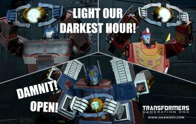 Damnit open!
