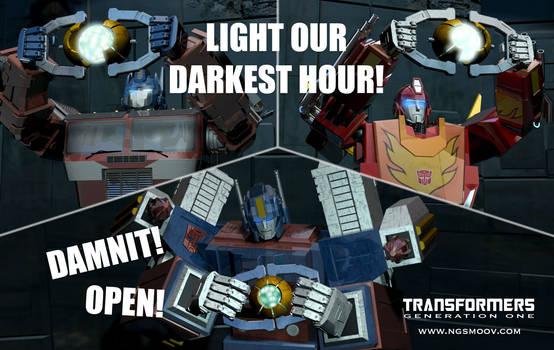 Damnit open! by rando3d