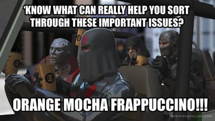 Orange Cobra Frappuccino!!!