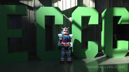 The MINIGUNdam - my son's new Gundam cosplay