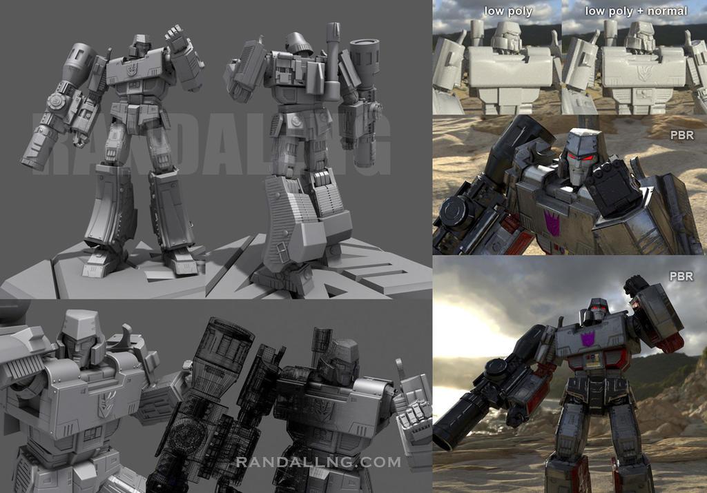 Megatron reborn by rando3d