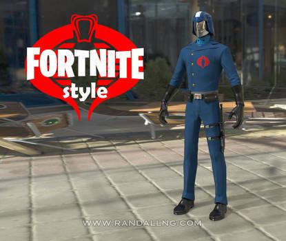 Cobra Commander x Fortnite