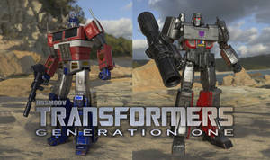 NGSMOOV's TRANSFORMERS: Generation One is BACK! by rando3d