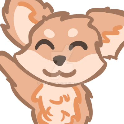 Cute smiling Fox twitch emote by Linachaan on DeviantArt