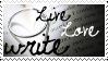 Live-Love-Write Stamp by Live-Love-Write