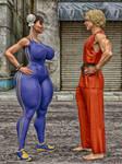 Chun-li vs. Ken by THE-FOXXX