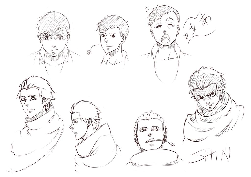 Shinosuke and Shiro by IMDSound