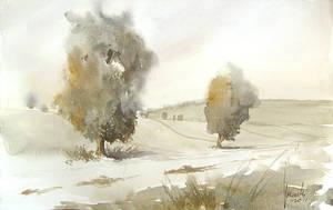Two Trees by mwolski