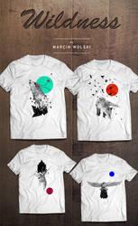Wildness Series T-Shirts by mwolski