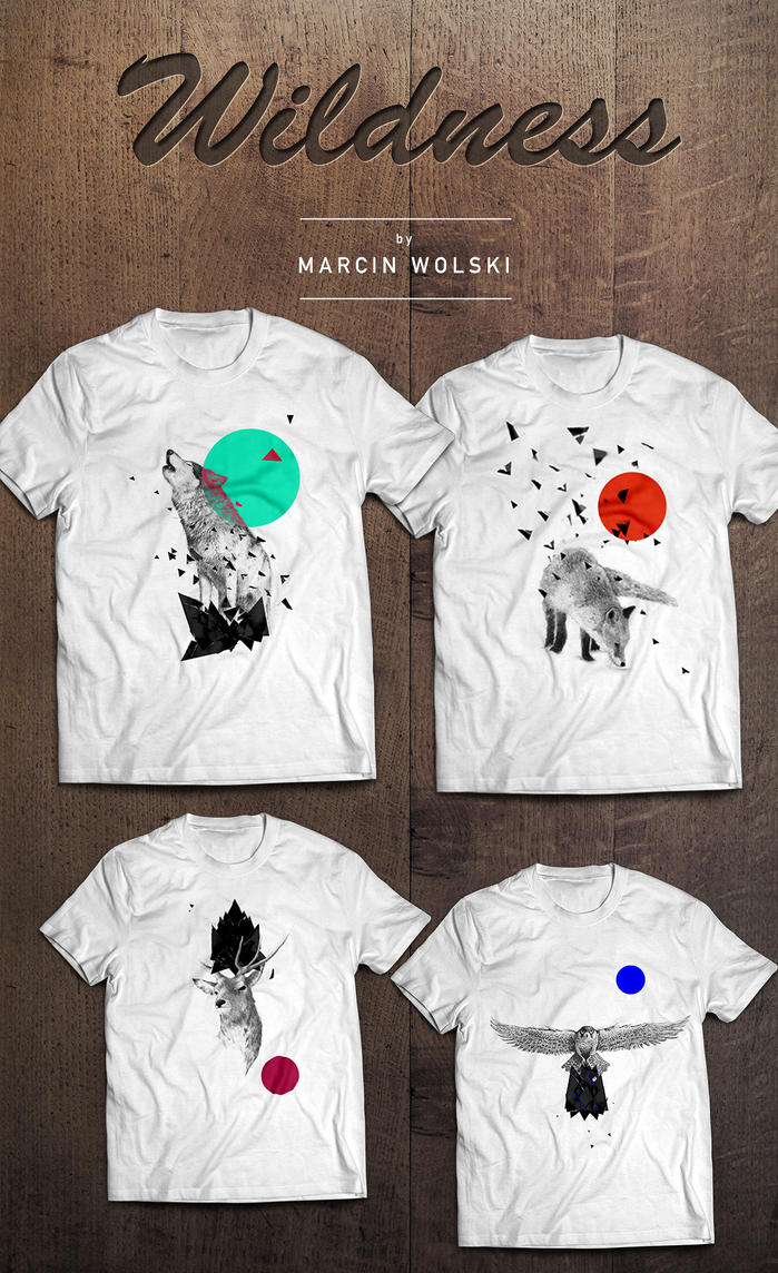 Wildness Series T-Shirts by mwolski