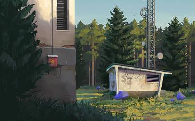 Radio Jamming Station by mwolski