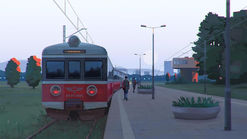 Morning Commute by mwolski