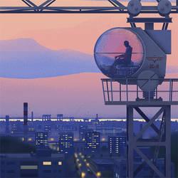 Tower Crane by mwolski