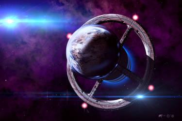 Terran World Cradle Cruiser by Redwoodjedi