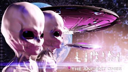 The Ancient Ones - Desktop Wallpaper by Redwoodjedi