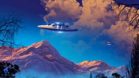 Colorado UFOs - Free Desktop Wallpaper by Redwoodjedi