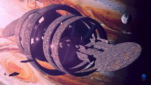 A Friend For Ganymede - Wallpaper