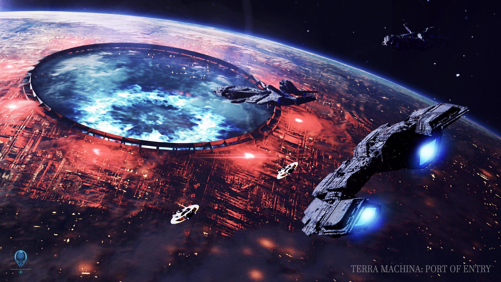 Terra Machina: Port of Entry