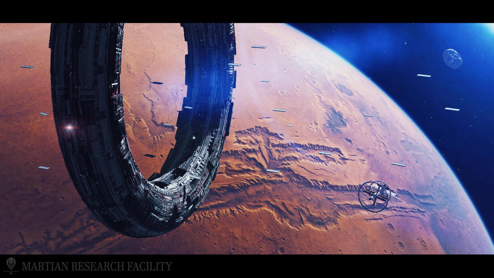 Martian Research Facility