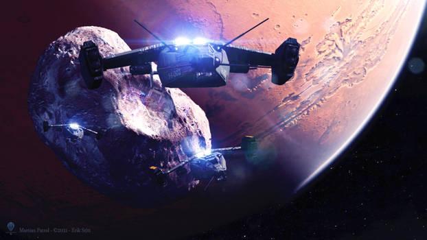 Martian Patrol