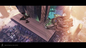Flight Over Temple City