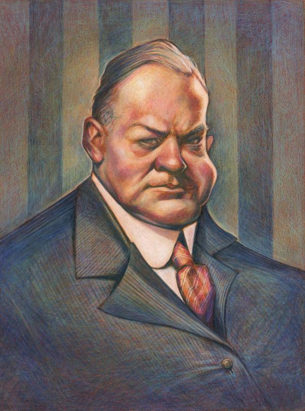 Herbert Hoover by AudreyBenjaminsen