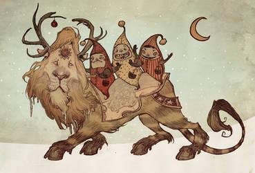 The Yuletide Beast by AudreyBenjaminsen