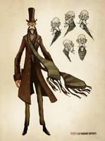Inspector Hector Cabbott III by AudreyBenjaminsen