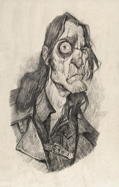 Mad Eye Moody by AudreyBenjaminsen