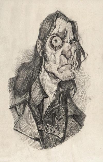 Mad Eye Moody by AudreyBenjaminsen