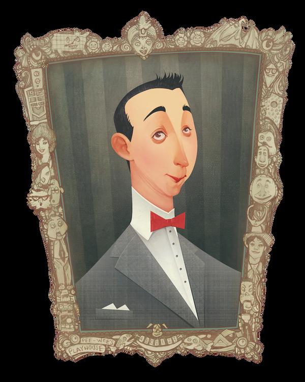Pee-Wee Herman by AudreyBenjaminsen