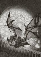 The Bat Rider by AudreyBenjaminsen