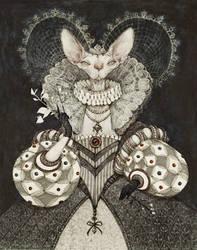 The Queen by AudreyBenjaminsen