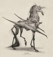 Thestral by AudreyBenjaminsen