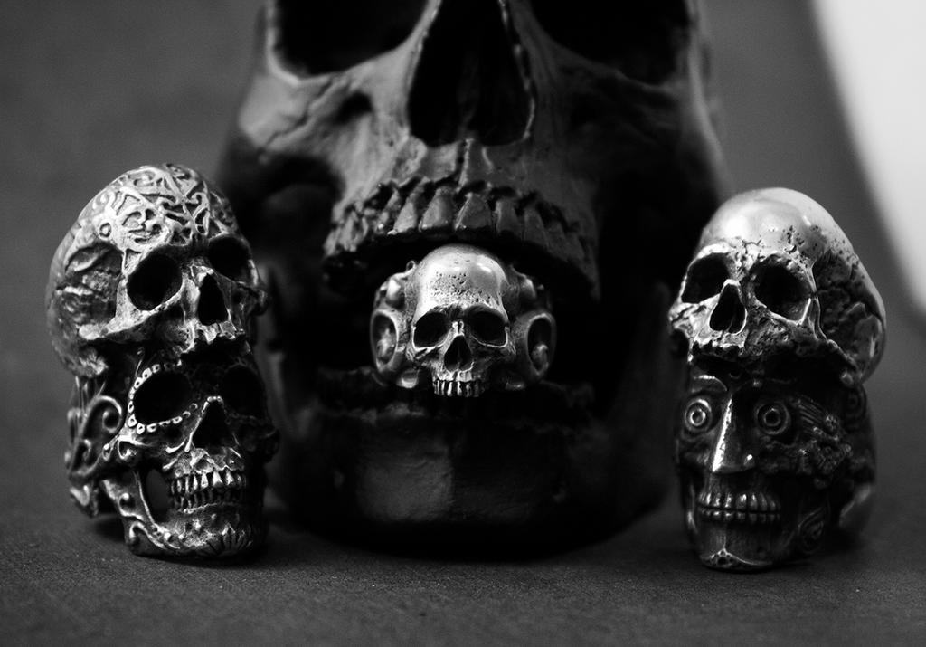Iron Clan Jewelry Rings Family by ironclanmetal